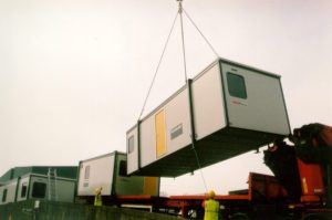 portacabin transportation